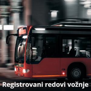 Registrovani redovi vožnje
